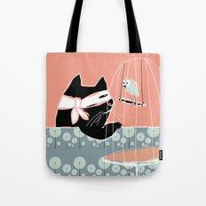 Kitty Bandit Tote Bag