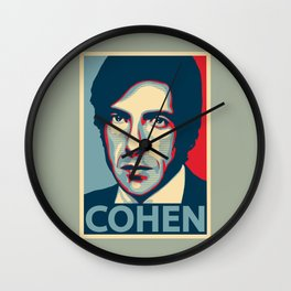 Leonard Norman Cohen Wall Clock