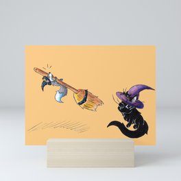 Lessons in Witchery Mini Art Print