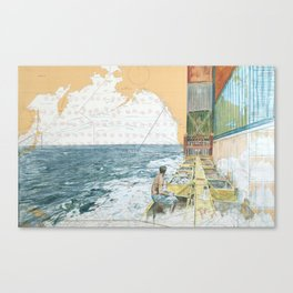 Deckwork Mid-Atlantic Canvas Print