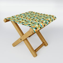 Scandy Triangles Folding Stool