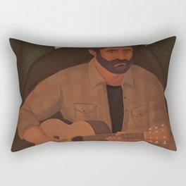 Joel (The Last of Us) Rectangular Pillow