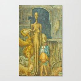 Giacometti on the Farm Canvas Print