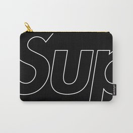 Supreme Outline Black Carry-All Pouch