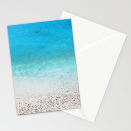 203. Blue Water, Greece Stationery Cards
