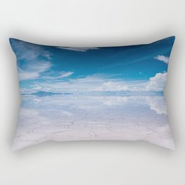 Salt Flats of Salar de Uyuni, Bolivia #1 Rectangular Pillow