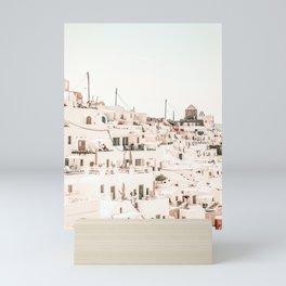 Santorini 2 Mini Art Print