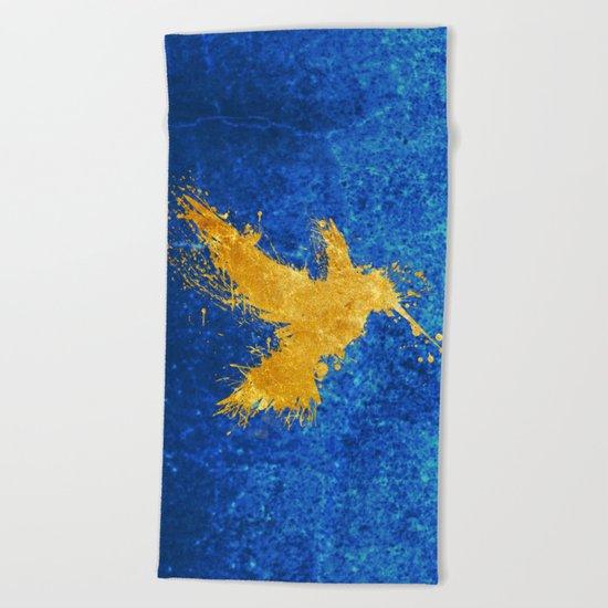 Hummingsplat - Gold Beach Towel