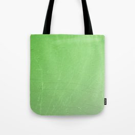 Shattered green flash ombre gradient Tote Bag