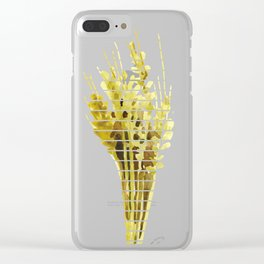 Thanksgiving Sheaf Abstract Minimalist Deco Clear iPhone Case