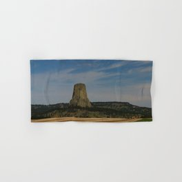 Road To Devils Tower Hand & Bath Towel