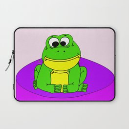 Wide-Eyed Toad Laptop Sleeve