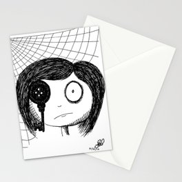 Mirrors are Never to Be Trusted Stationery Cards