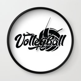 Volleyball Gift Wall Clock
