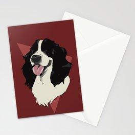 Springer Spaniel Stationery Cards