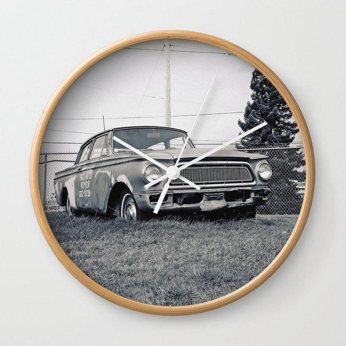 Rusty Rambler Wall Clock