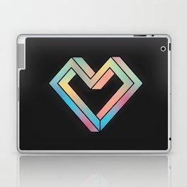 le coeur impossible (nº 4) Laptop & iPad Skin