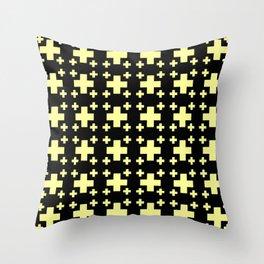 Jerusalem Cross 4 Throw Pillow