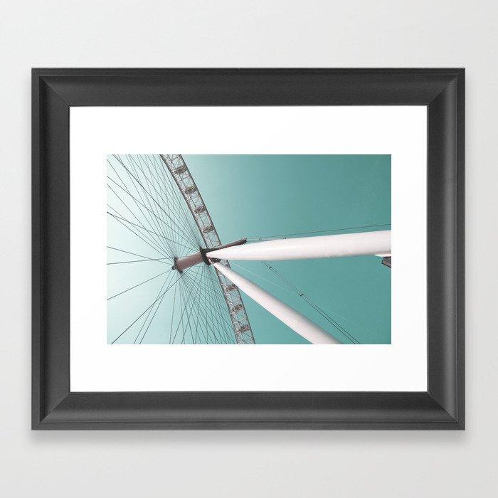 london eye 01 Framed Art Print
