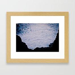 In A Hole Framed Art Print