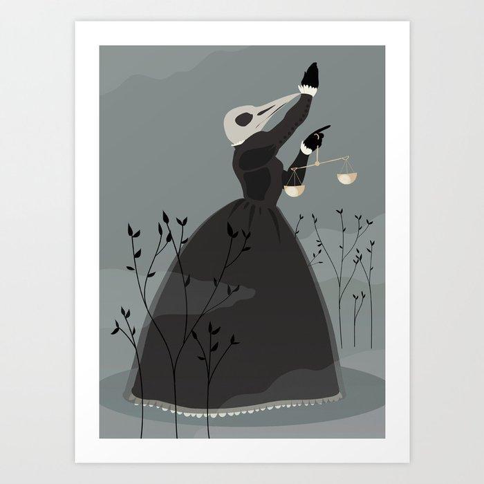 birdmaiden Art Print