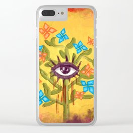 Eye witness Clear iPhone Case