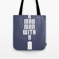 Tardis, Doctor Who - A Mad Man With a Box Tote Bag