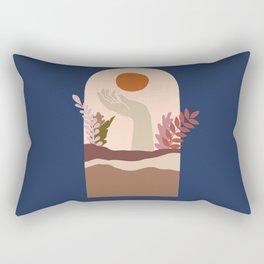The Window #3 Rectangular Pillow