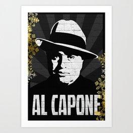 Al Capone PPGD Art Print