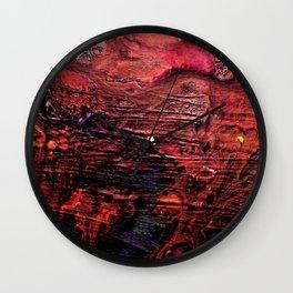Dark  Sea Symphony Wall Clock