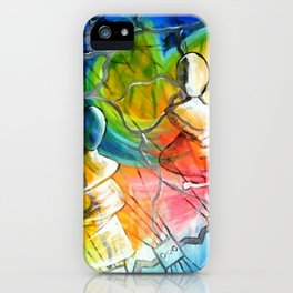 Meditate iPhone Case