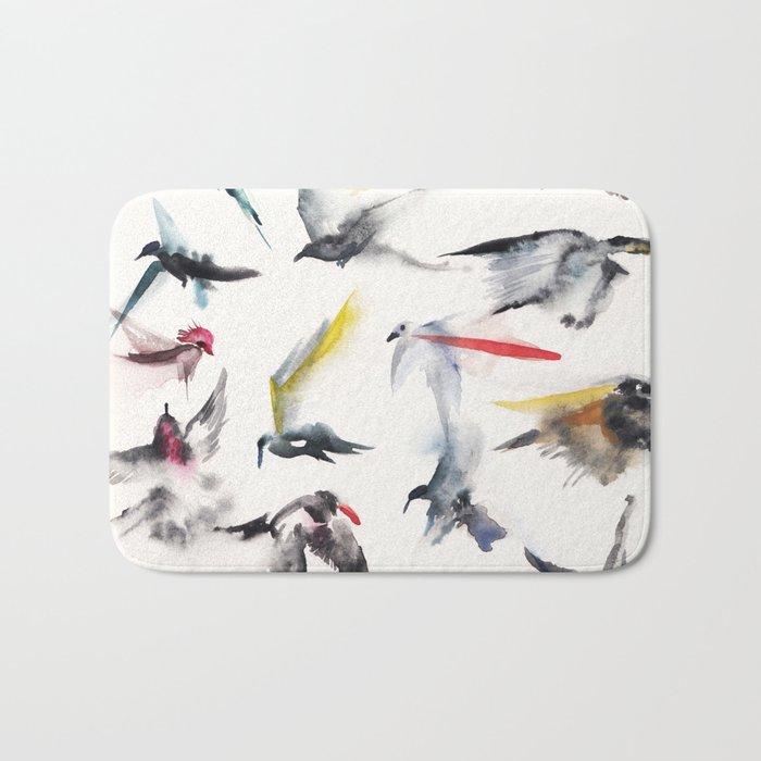 Free birds Bath Mat