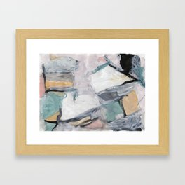 """The """"Oh"""" Abstract Framed Art Print"""