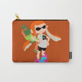 Inkling Girl (Orange) - Splatoon Carry-All Pouch