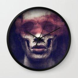 Fifty Shades of Grey Matter Wall Clock