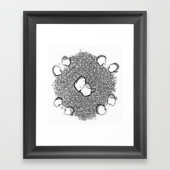 Complicated but Great Framed Art Print
