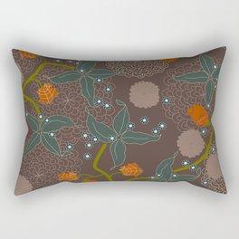 jungle delights chocolate Rectangular Pillow