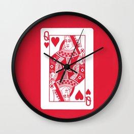 Queen of my Heart Wall Clock