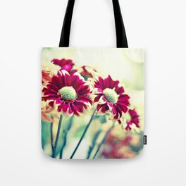 Raspberry Bokeh Tote Bag