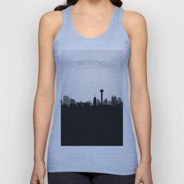 City Skylines: San Antonio (Alternative) Unisex Tank Top