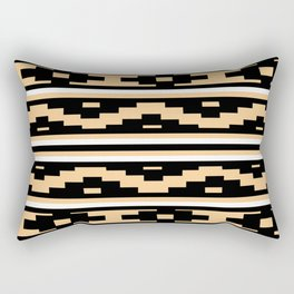 Etnico beige version Rectangular Pillow