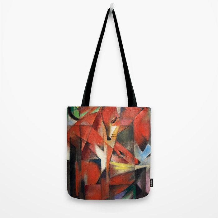 """Franz Marc """"The foxes"""" Tote Bag"""