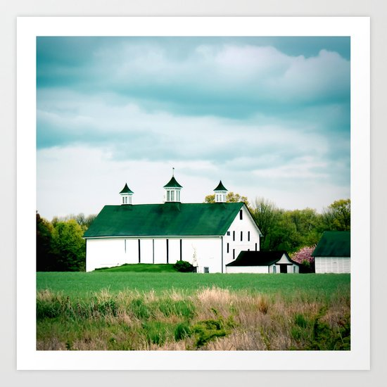 Barn in Pennington Art Print