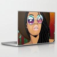 coachella Laptop & iPad Skins featuring Coachella Chic by Mark Baker-Sanchez