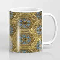 honeycomb Mugs featuring Honeycomb by Melinda Zoephel