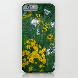 Flowers On the Edge iPhone Case