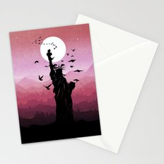 Liberty Enlightening the World Stationery Cards