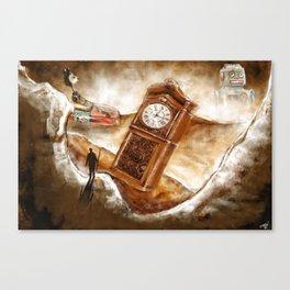 The Time Traveler | Conceptual Environmental Landscape Canvas Print