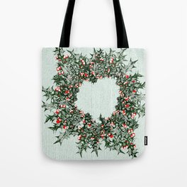 Ring of Holly Tote Bag