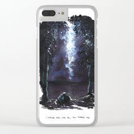 I Never Fell For You; You Tripped Me Clear iPhone Case